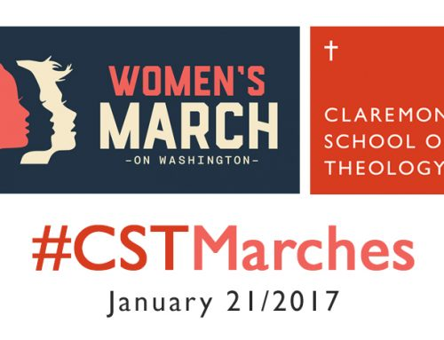 CST President Supports Women's March