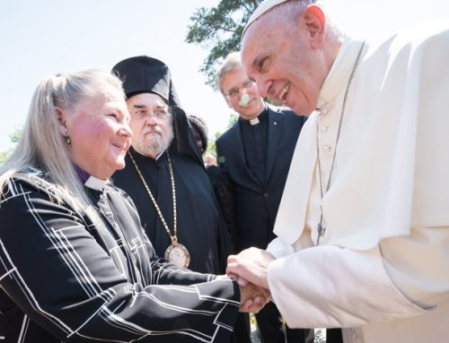 Bishop Swenson meets the Pope