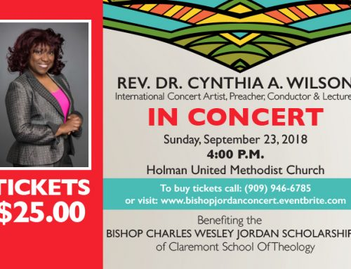 Benefit Concert Planned for Bishop Charles Wesley Jordan Scholarship Fund
